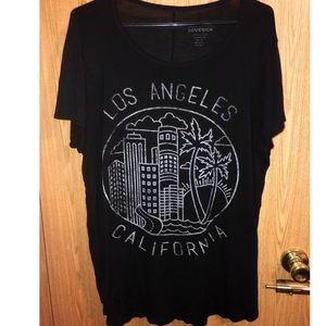 Lovesick 'Los Angeles' graphic tee